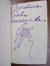 ENVOI AUTOGRAPHE / GYP. le druide. roman Parisien 1885 Reliure cuir