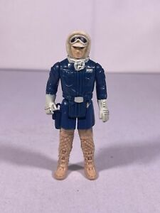Vintage Star Wars Han Solo Hoth Molded Leg Boot Variant 1980 Kenner ESB Original
