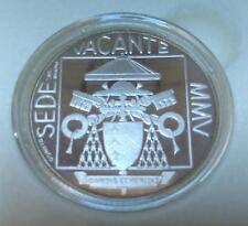 """VATICANO - 5 Euro in argento 2005 """"Sede Vacante"""" PROOF"""