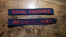 TITLE INSIGNES ANGLAIS ROYAL MARINE British tittle GB ORIGINAL WW2