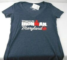 IRONMAN Triathlon Maryland 2019 Womens Athletic T Shirt Size Small