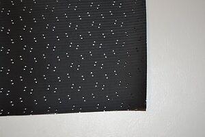 1967 67 CHEVROLET CAPRICE 2 DOOR HARDTOP BLACK PERFORATED HEADLINER USA MADE