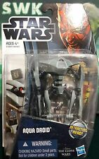 "Star Wars Clone Wars Aqua Battle Droid, battle of Kamino, 3.75"" Figure CW10."