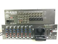 ALESIS iMULTIMIX 9R RACKMOUNT 8 CH MIXER WITH IPOD DOCK WITH POWER CORD (ONE)