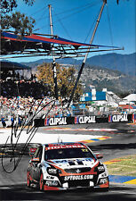 James Courtney SIGNED 12x8, HSV Holden VE Commodore ,Clipsal 500 Adelaide 2014.