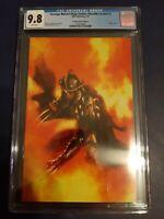 TMNT Shredder in Hell 1 Gabriele Dell'otto Fire Virgin Variant LE 666