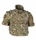 British Army MOLLE Osprey MK4 MTP Multicam Collar Pouch Panel Side Plate CoverWebbing - 112476