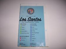 GTA GRAND THEFT AUTO 5 V LOS SANTOS XBOX 360 PS3 MAP ONLY - PERFECT!