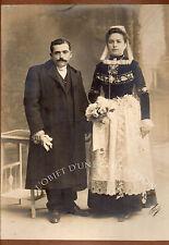 VILLARD 1838 1898 BRETAGNE QUIMPER MARIAGE 1880 photo SIGNÉE