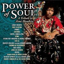 POWER OF SOUL A TRIBUTE TO JIMI HENDRIX VARIOUS ARTISTS RARE CD