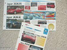 JAGUAR XKR vs XKE Series 3 III Road Test Brochure, XK-R