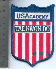 PARCHE MARTIAL ARTS USACADEMY   PATCH TAE KWON DO