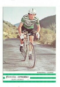 Luciano Rossignoli  Italien  - Autogrammkarte  Rad Cycling Cyclisme Ciclismo
