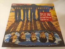 Split Enz Conflicting Emotions Vinyl LP Record NEW & SEALED with HYPE STICKER!!!