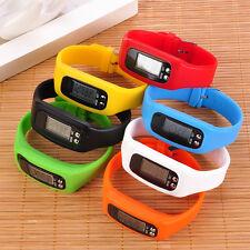 3D Smart Wrist Watch Pedometer Bracelet Tracker Step Walking Jogging Sport Hot