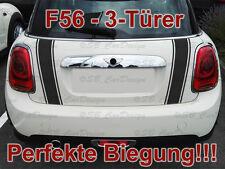 Tira maletero Tiras Pegatina portón para BMW MINI COOPER F56 One WORKS Jack