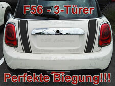 Streifen Boot Stripes Aufkleber Heckklappe f. BMW MINI COOPER F56 One Works Jack