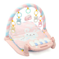 3 In 1 Baby Musical Gym Play Mat Kick Floor Activity Piano Fitness + Control