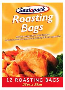 12 36 60 Pc Large Roasting Bags Chicken Turkey Oven Microwave Healthy Cooking
