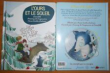 L'ours et le soleil LIVRE CD de Domitille Collection Naïve musique, JACADI