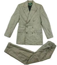 Lauren Ralph Lauren Women's Wool Blazer Pants Suit Set Houndstooth Size 6 USA