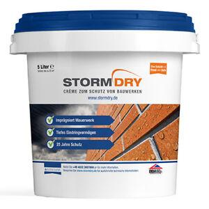 Stormdry, 5l - Hydrophobiermittel für Fassaden