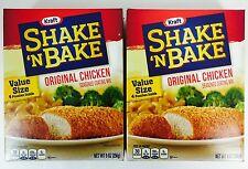 2X Value Size Boxes Shake 'N Bake Original Chicken Seasoned Coating Mix, 9oz