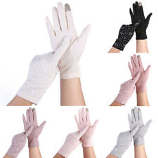 2020 Fashion Women Sun UV Protection Stretch Gloves Touch Screen Driving Glo FD