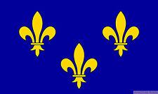 ILE DE FRANCE 5x3 feet FLAG 150cm x 90cm Polyester fabric flags PARIS FRENCH