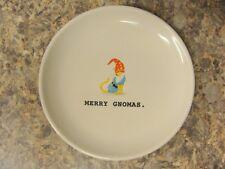 Rae Dunn Merry Gnomas 6 1/2 Inch plate