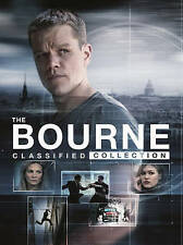 The Bourne Classified Collection (DVD, 2016, 5-Disc Set)
