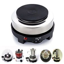 Multifunctional Mini Stove Cooking Hot Plate Coffee Heater Electric 500W black