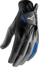 Pair of 2018 Mizuno Rainfit Mens Wet Weather Golf Gloves Black Large Grf17p-09-large