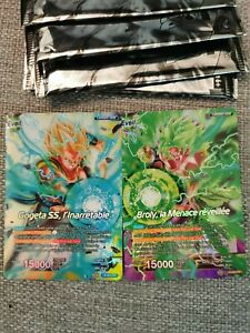 Booster Neuf Dragon Ball Super Broly Film Card Game 2 cartes