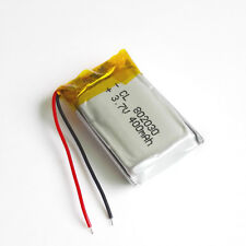 400mAh 3.7V Lipo Rechargeable Battery Polymer cells 802030 For Bluetooth GPS MP3