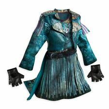 NWT Disney Store Descendants 2 Isle Uma Deluxe Complete Outfit Costume 5-6 S