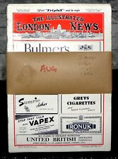 The Illustrated London News - August - x5- 1948/1949/1954 Collection LOCFIND UPS