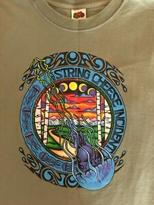 The String Cheese Incident 2002 Spring Tour T-Shirt (XL)
