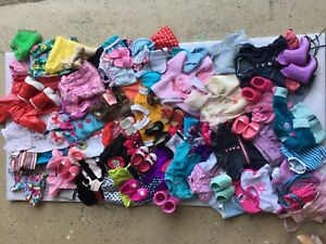 """Huge Mixed Lot of 18"""" Doll Clothes & Accessories – Fits American Girl Dolls!"""