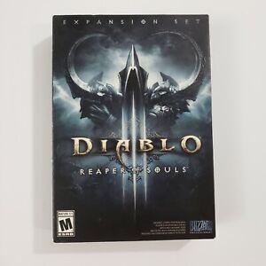 Diablo 3 Reaper of Souls Expansion Set PC Complete Blizzard
