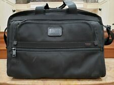 Tumi Alpha Boarding Tote Laptop Bag Carry On Ballistic Nylon Black 22154DH
