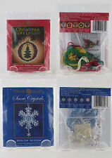 2 Mill Hill Ornament Kits Snow Crystals #MH16-1301 & Christmas Jewels MH16-2306