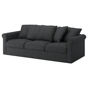 Ikea cover set for Gronlid 3-seater Sofa in Sporda Dark Grey