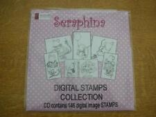 Seraphina Digital stamps collection CD-ROM. New sealed
