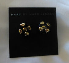 Marc by Marc Jacobs Kandi Circle Stud Earrings Black New