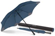 BLUNT Classic NAVY BLUE Large Storm Resistent Stick Umbrella - 2 YEAR Warranty