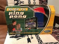 Ping pong  Radica Plug n Play Game rarest one, never played new in box.