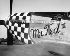 USAAF WW2 P-51 Fighter Mr Ted III 8x10 Nose Art Photo 78th FG RAF Duxford