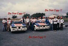 D.T. Dobie Co Nissan 240 RS Rally Equipo Safari Rally 1983 fotografía 1
