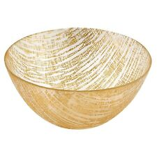 Badash Gold Lines Handcrafted Glass Bowl (KM710G)